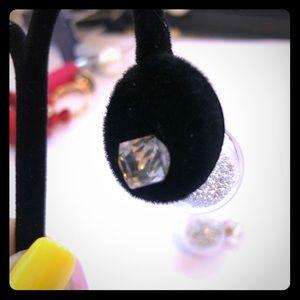 Jewelry - Swarovski Crystal - Clear Back Ball & Tiny Beads